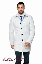 palton barbati alb